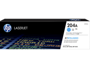 Mực in HP 204A Cyan Original LaserJet Toner Cartridge (CF511A)